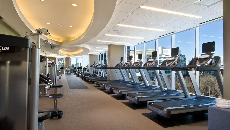 Hotel fitness center dallas omni