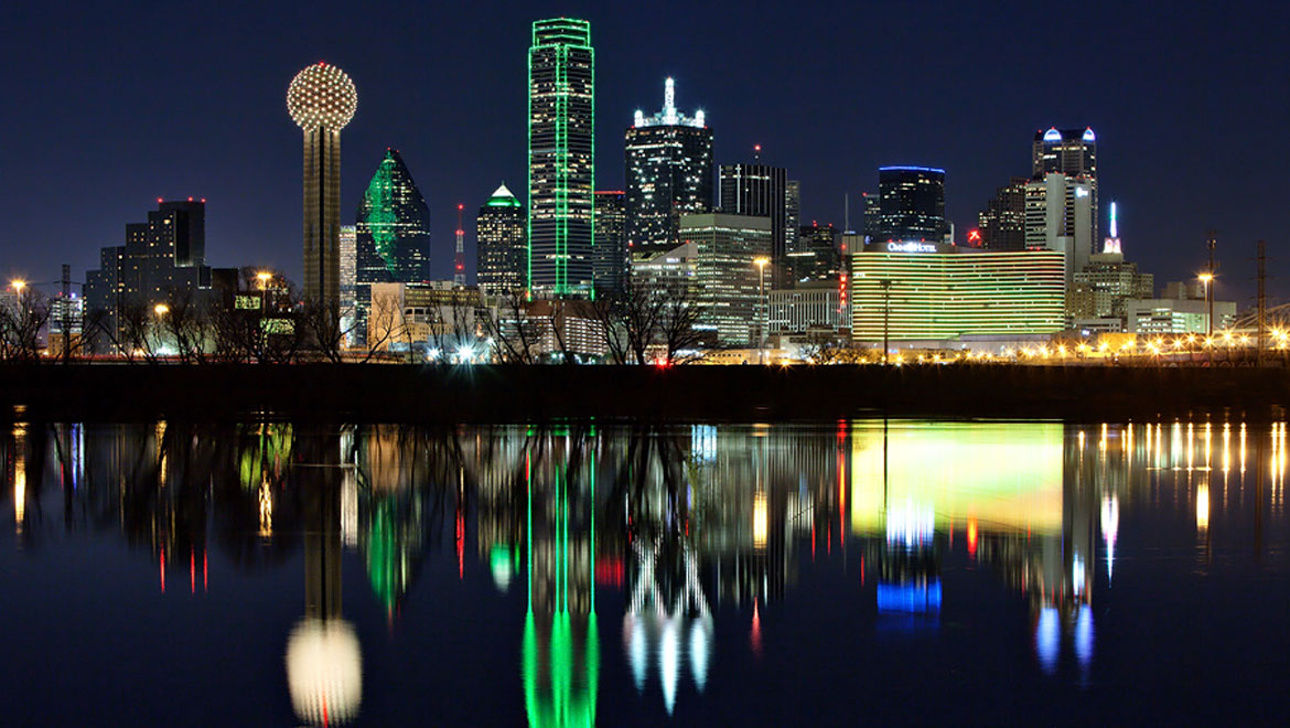 Skyline in Dallas