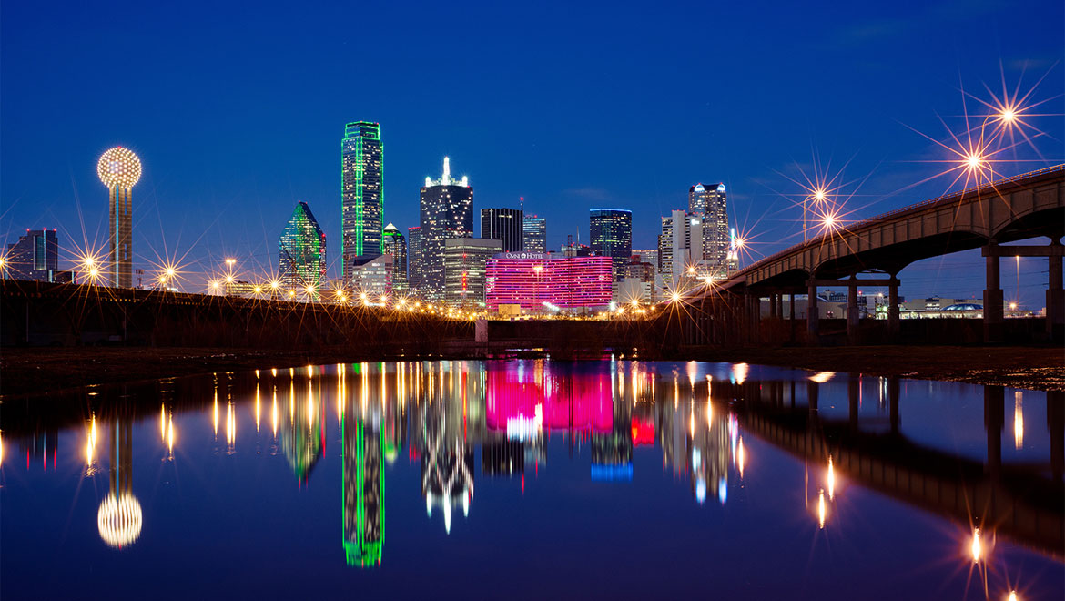 Dallas skyline
