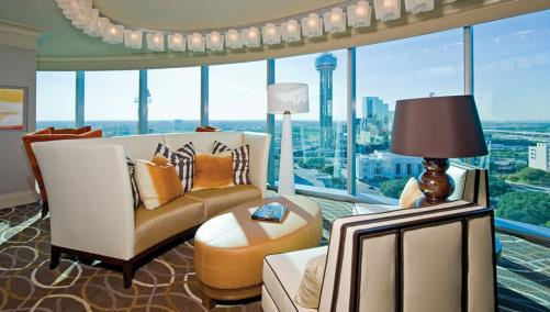 Suite at Omni Dallas Hotel