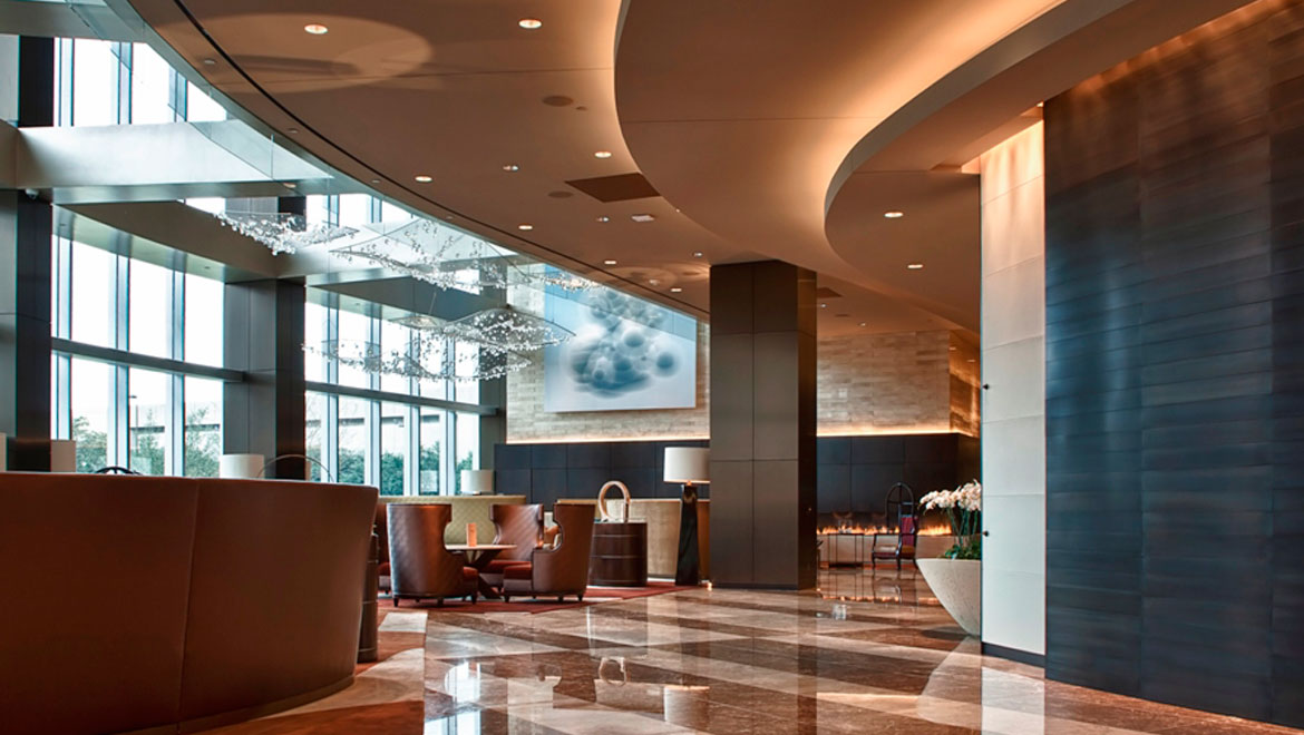 Restaurant Dallas Lobby Lounge Omni Dallas Hotel