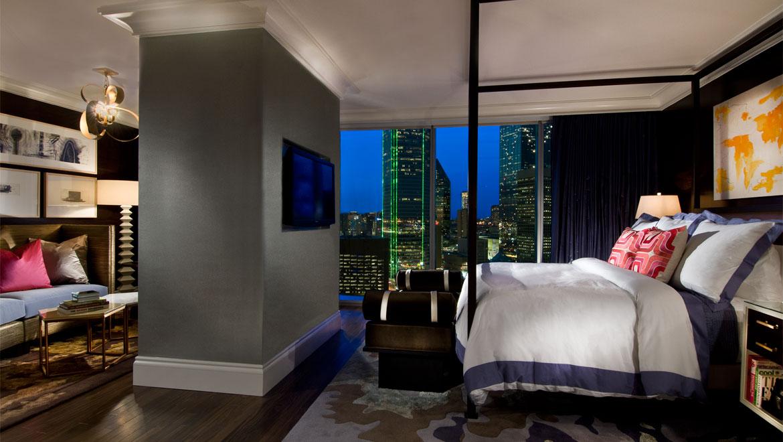 Hotel Suites In Dallas Texas Guest Rooms Omni Dallas Hotel