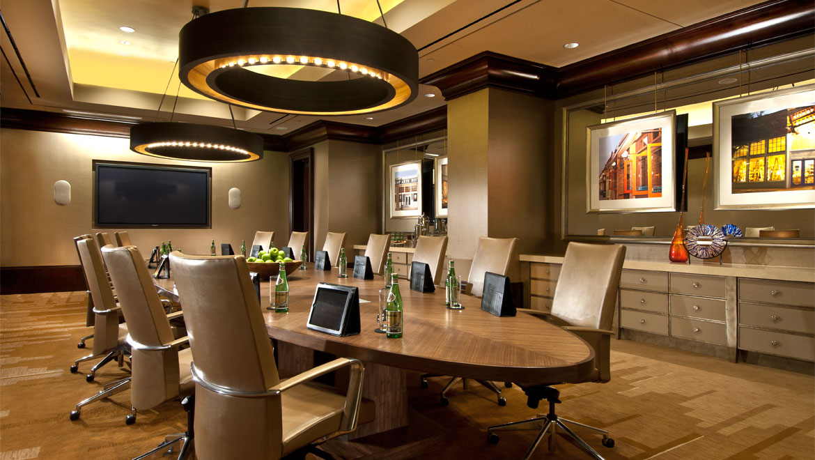 Bishop Arts Boardroom in Omni Dallas Hotel