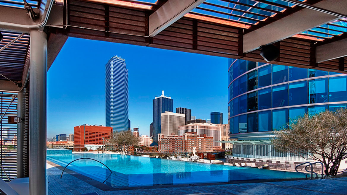 dallas hotel pool omni dallas hotel