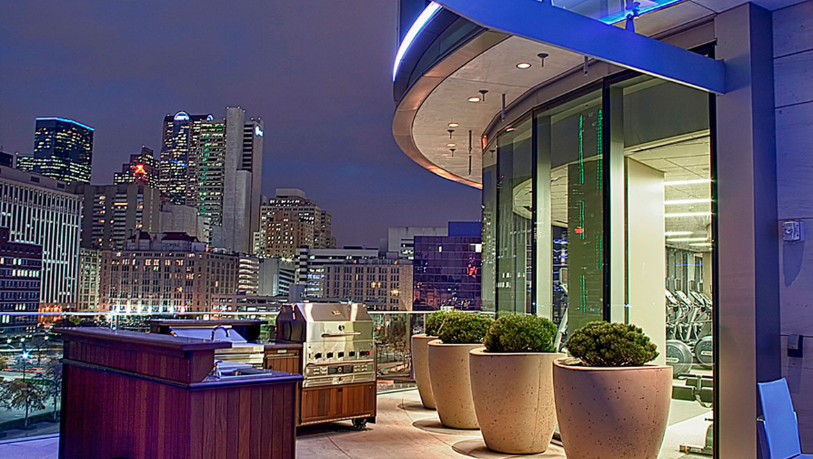 Omni Dallas Pool Terrace
