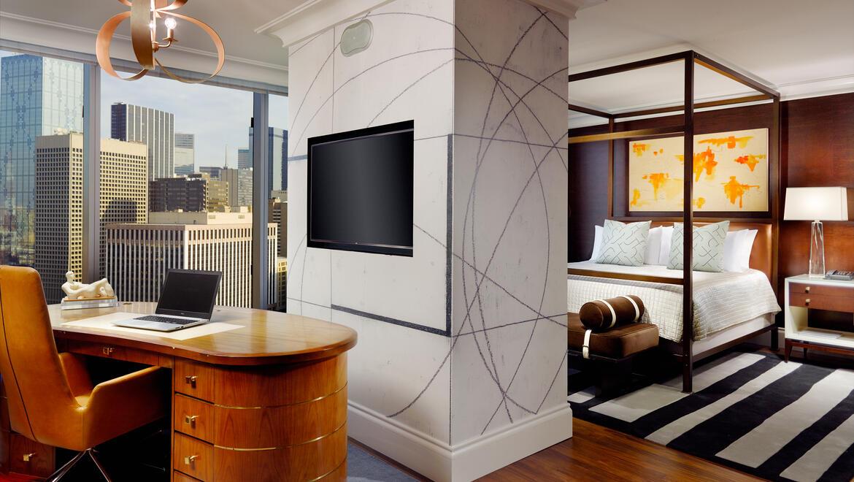 Hotel Suites In Dallas Tx Guest Rooms Omni Dallas Hotel