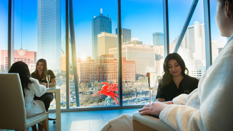 Spa Hotels In Dallas Mokara Omni Dallas Hotel