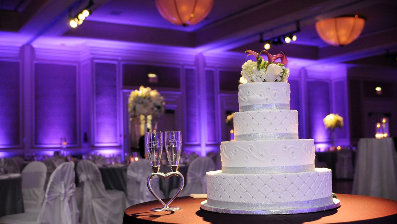 Park West Wedding Cake