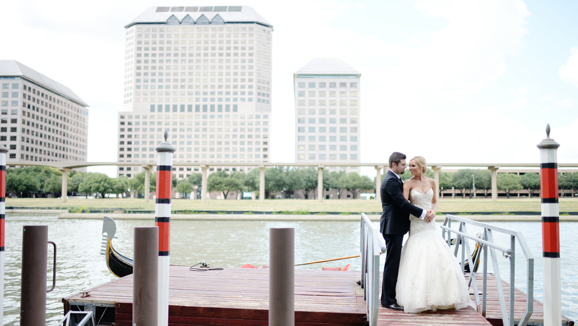 Omni Mandalay Hotel wedding gondola