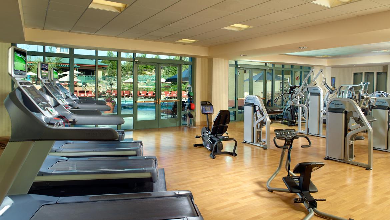 Fitness center denver omni interlocken hotel
