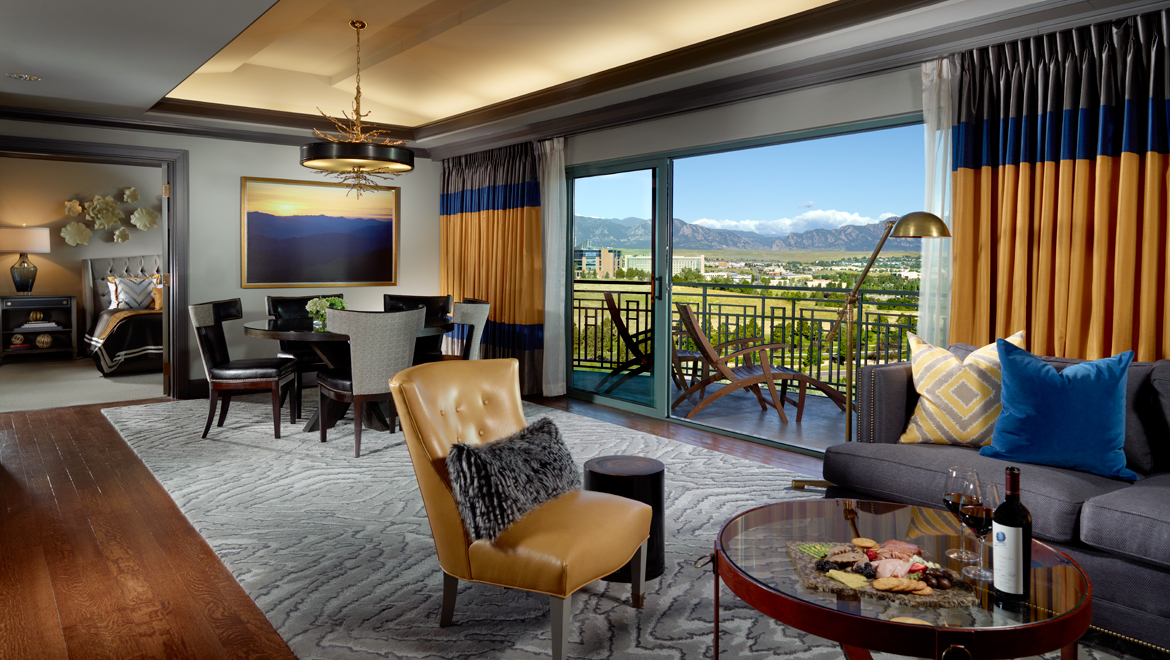 Following A Day Of Memory Making On The Hiking Trail Or Golf Course Return To One Omni Interlocken Hotel S Ious Rooms Suites Reflecting