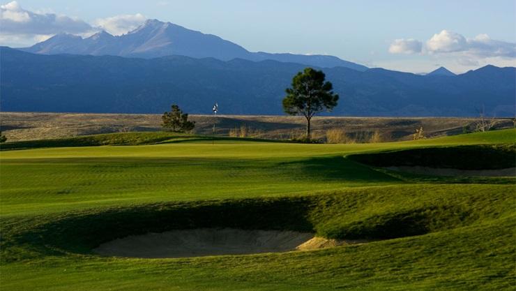 Golf course at Interlocken