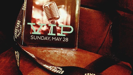 VIP Pass from May 28 Concert