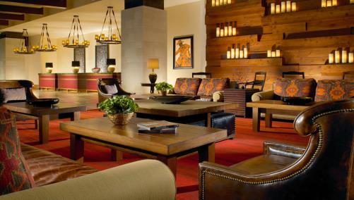 Lobby at Fort Worth hotel