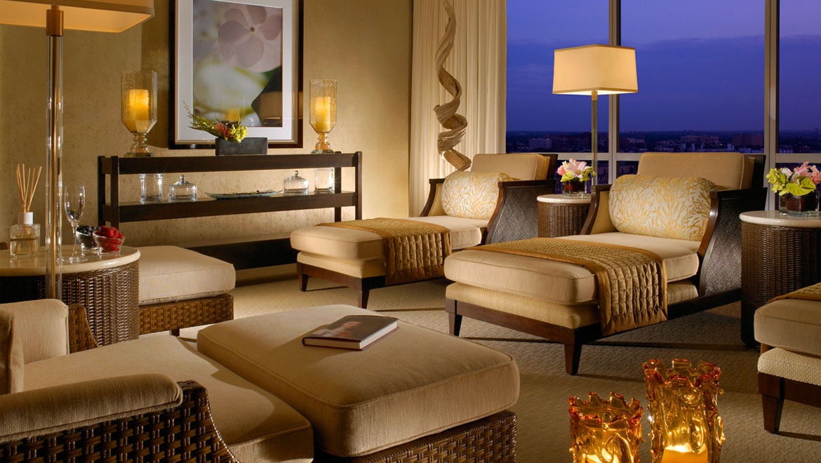 Fort Worth hotel spa lounge seating