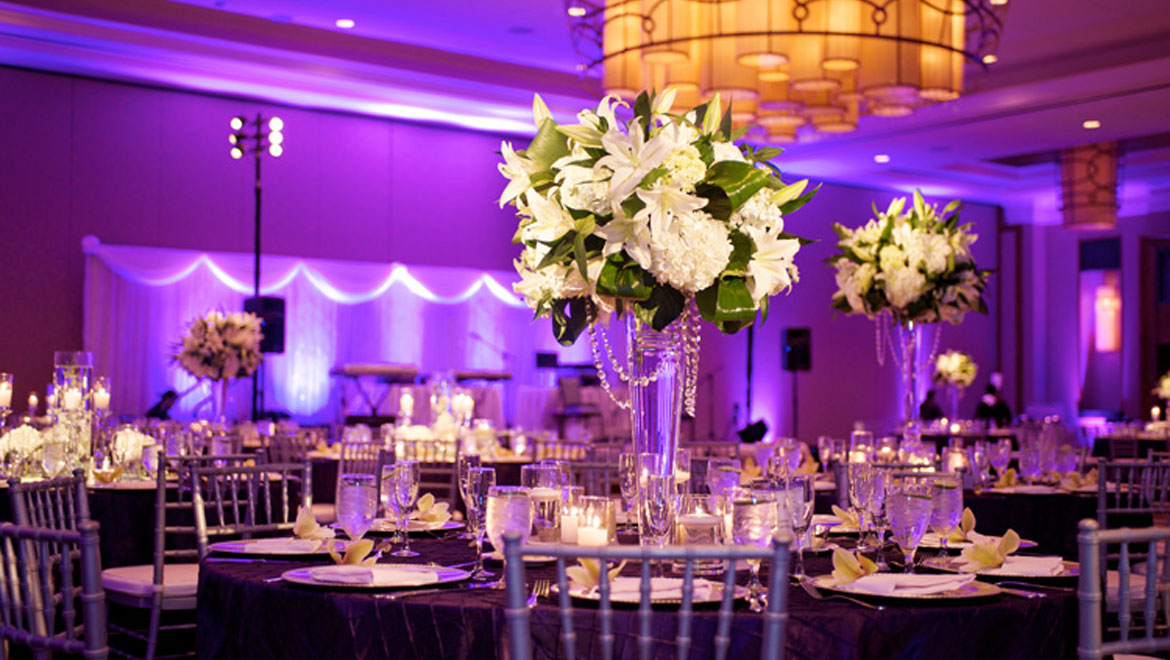 Fort Worth hotel wedding reception