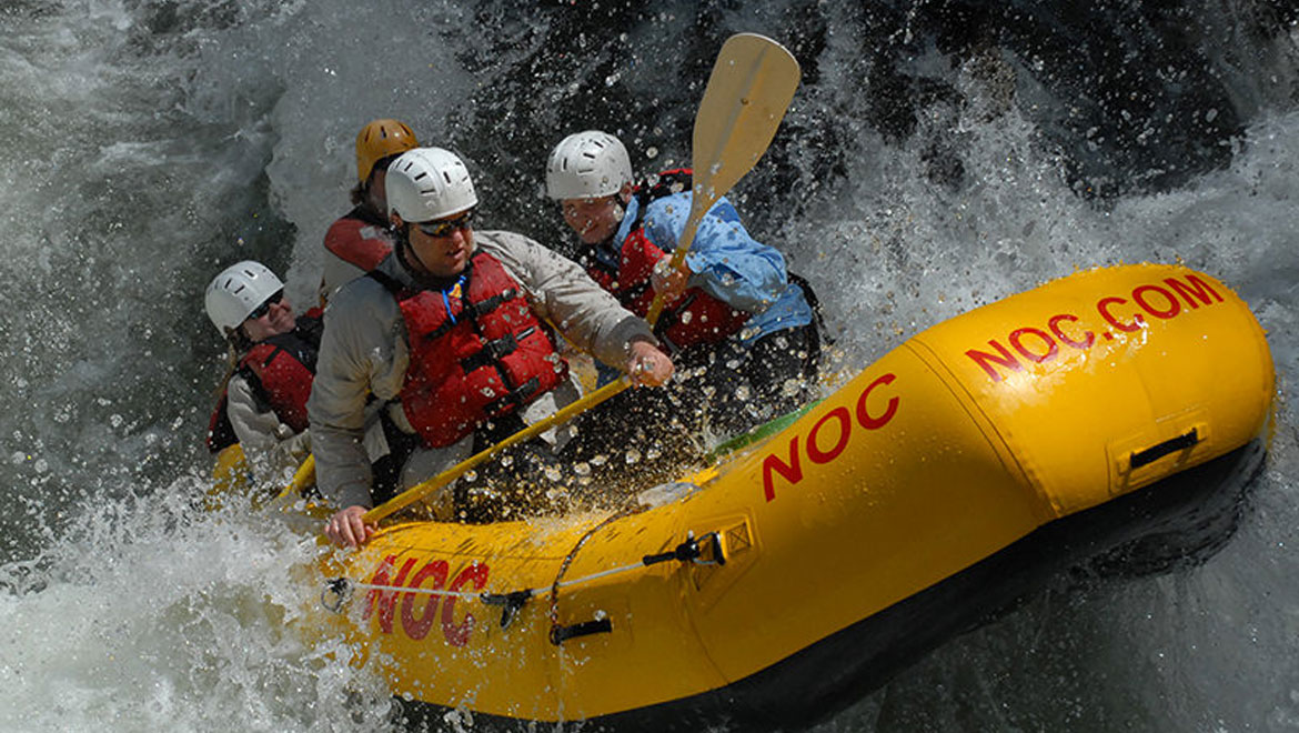 White water rafting in Asheville