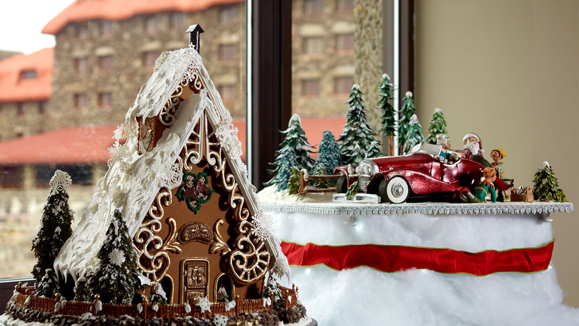 Gingerbread house in Asheville