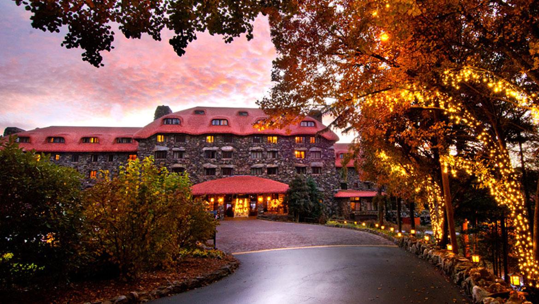 Hotels In Asheville Nc >> Asheville Hotels The Omni Grove Park Inn