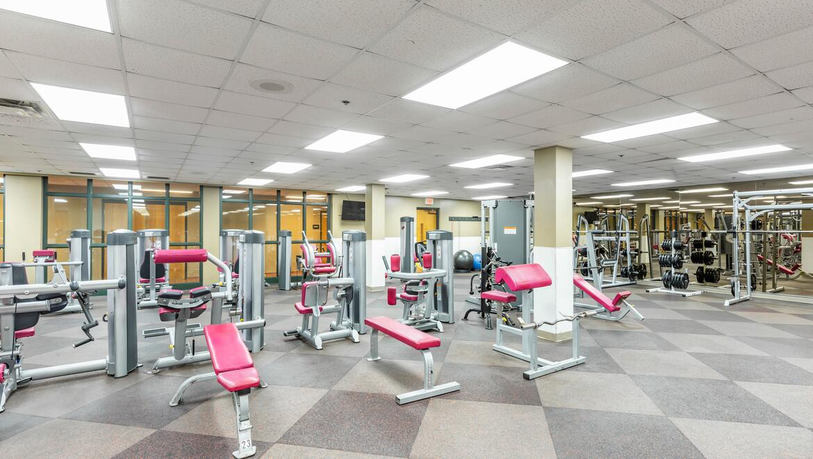 Sports Complex Weight Room