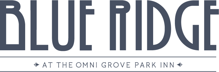 Blue Ridge Logo. 290 Macon Avenue Asheville, North Carolina 28804