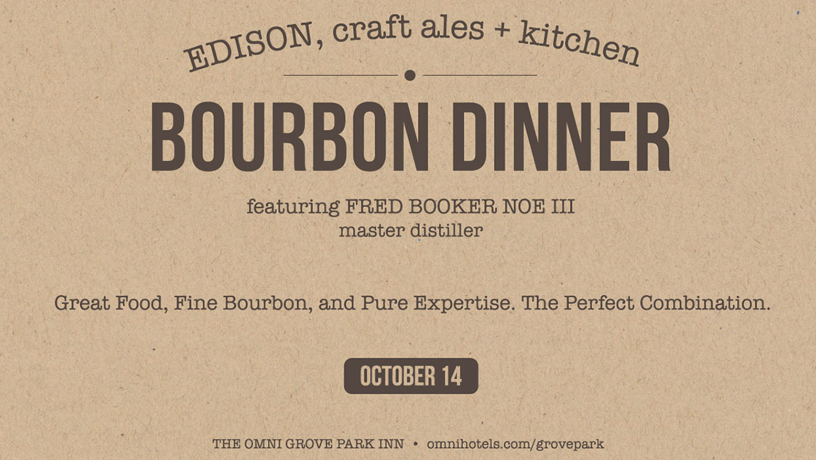 Knob Creek Dinner in Edison