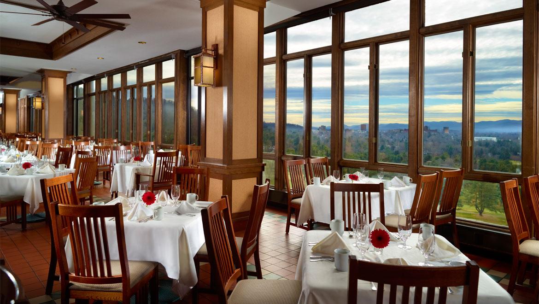 Asheville restaurants the omni grove park inn for Table asheville