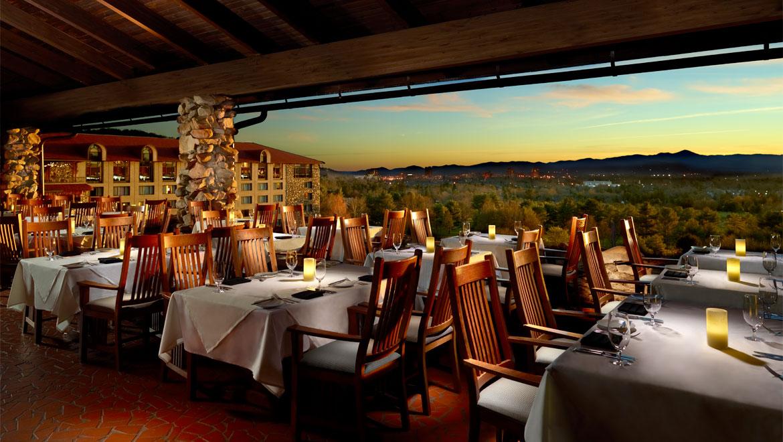 Asheville restaurants the omni grove park inn for Terrace on the park menu