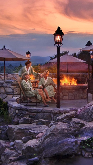 Grove Park Inn Spa Fire Pit