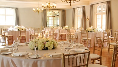 Golden Reception in the Country Club