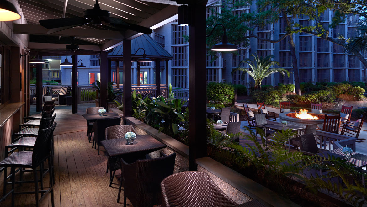 HH Prime restaurants outdoor bar