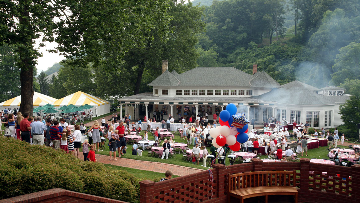 Cookout on the Casino Lawn
