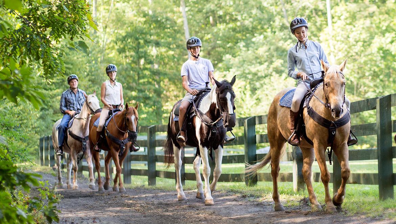 Horseback Riding Virginia | The Omni Homestead Resort