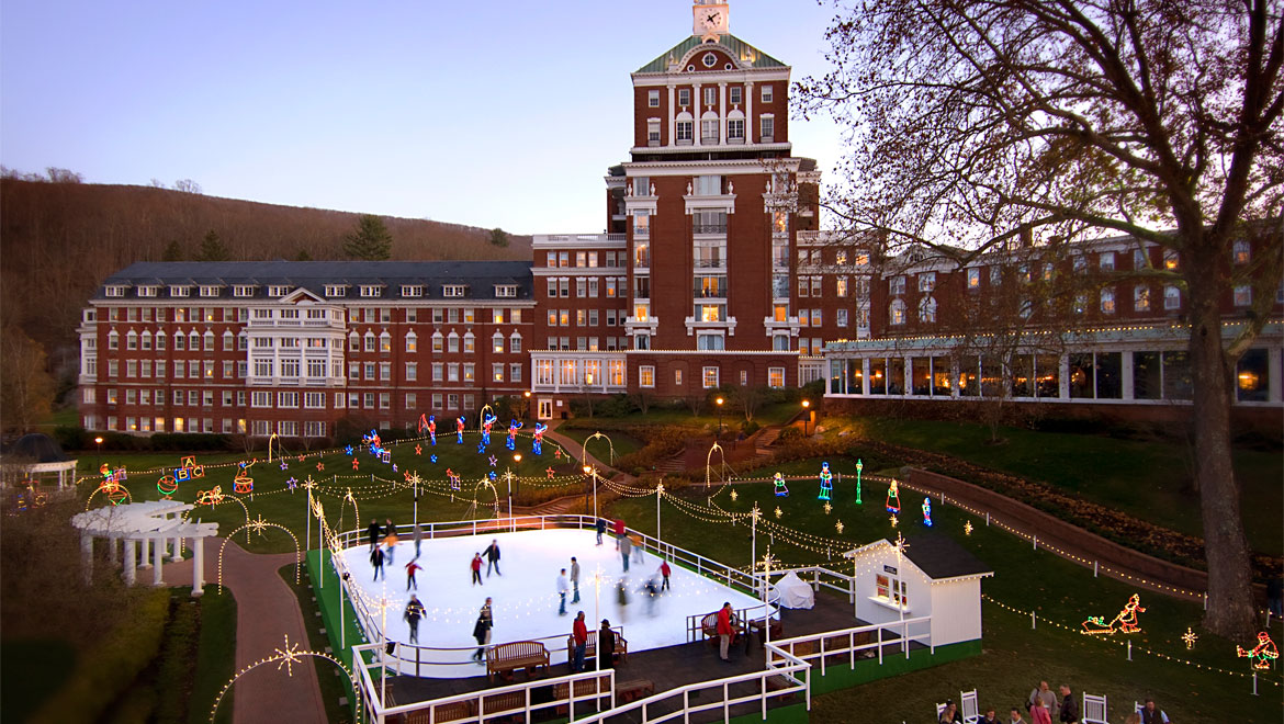 Ice skating in Hot Springs