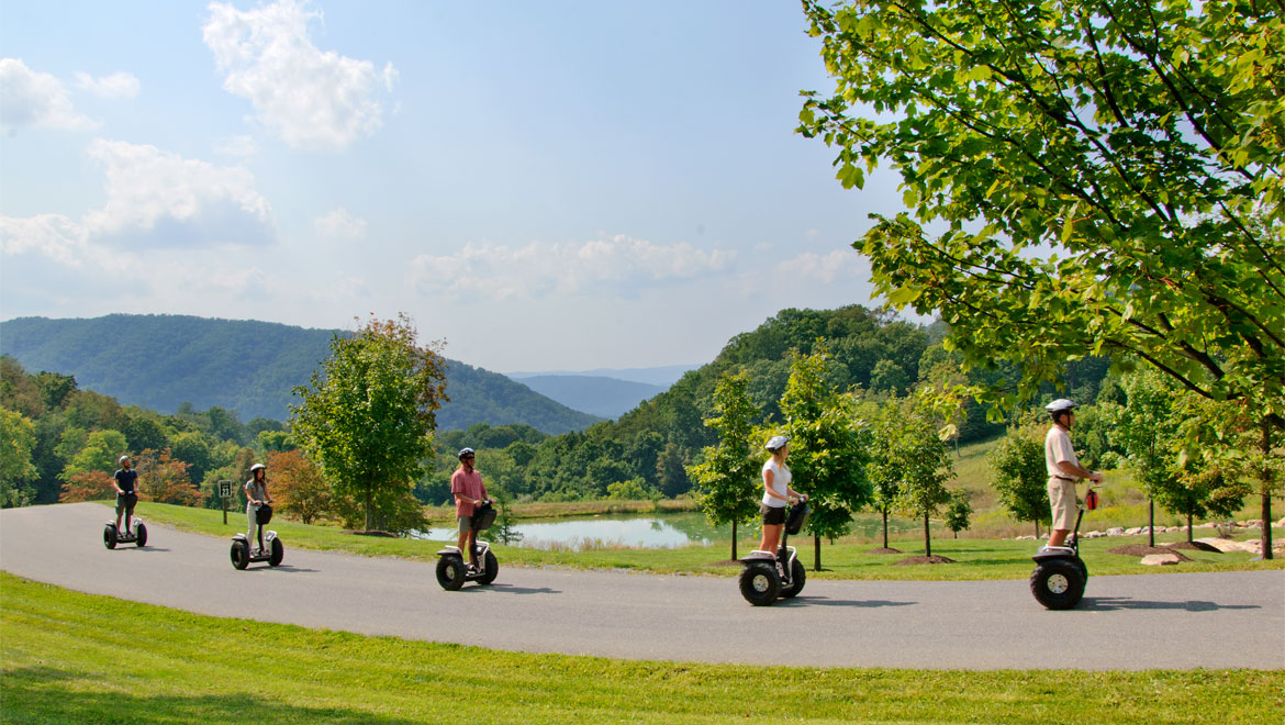 Segway tour in Hot Springs