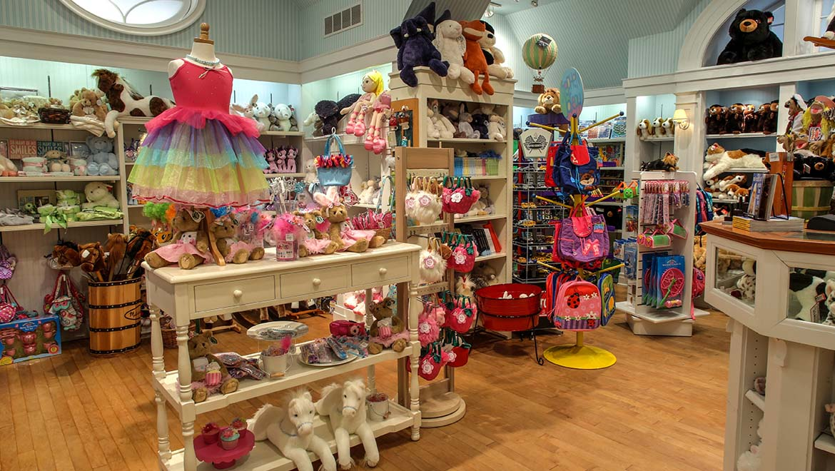 Hobby Horse children's shop at The Omni Homestead