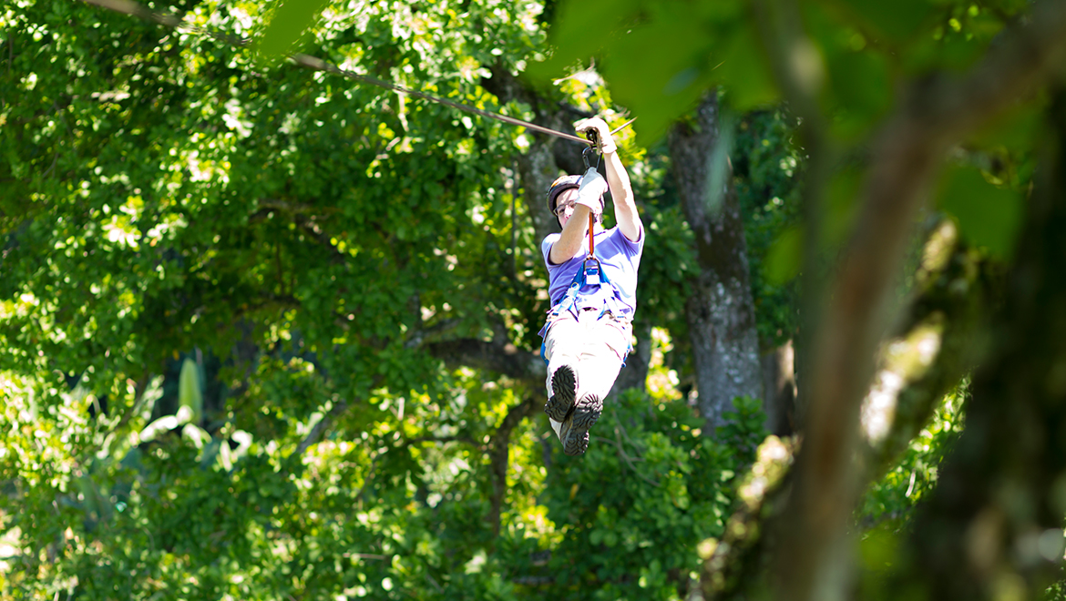 Zip Line at The Omni Homestead