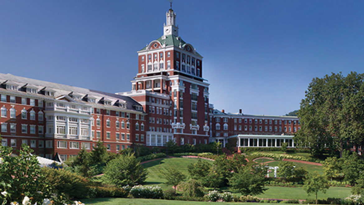 The Omni Homestead Resort exterior