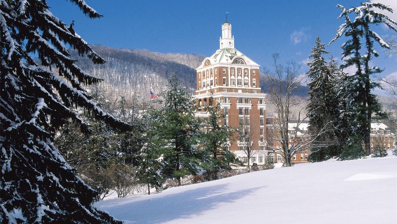Homestead Resort In The Winter