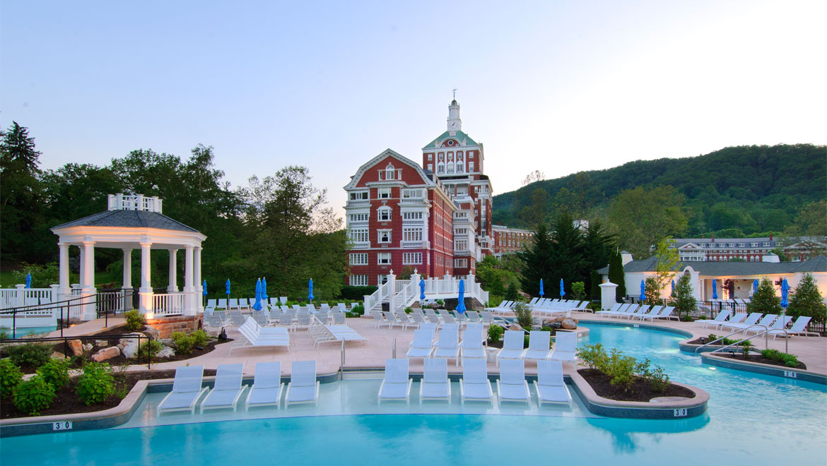 Spa and wellness hot springs va the omni homestead resort