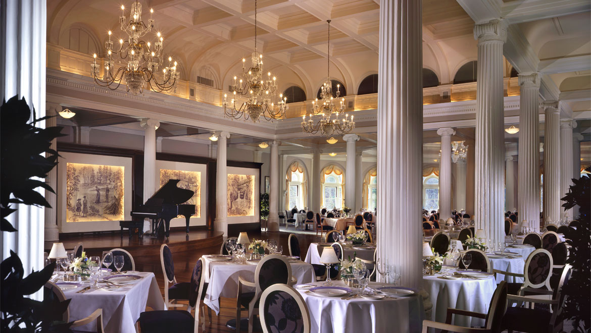 Hot springs va vacation packages the omni homestead resort for W hotel in room dining