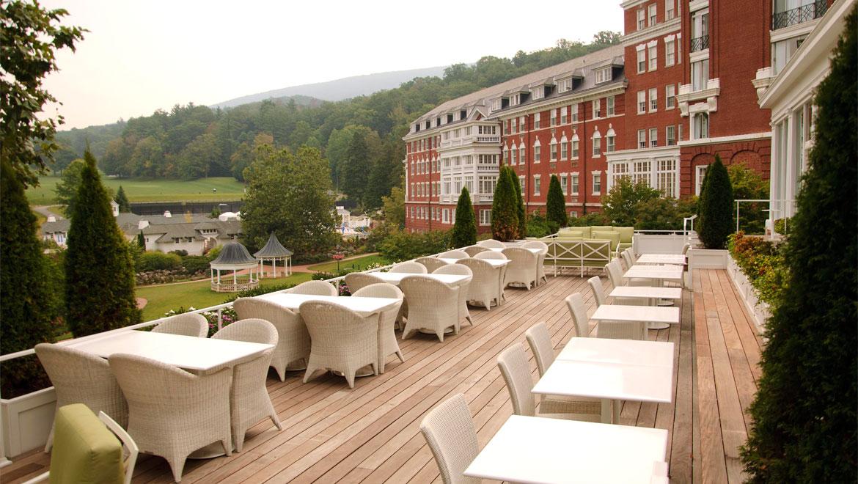 Restaurants In Virginia Jefferson S Omni Homestead Resort