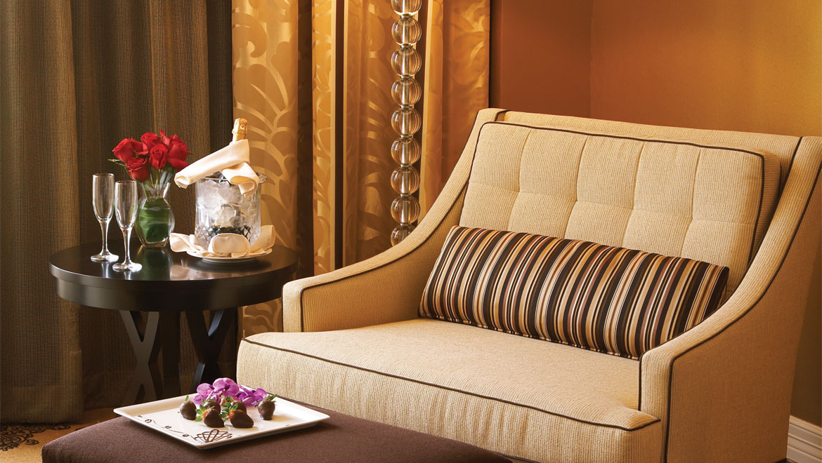 Guestroom Seating At Houston Hotel