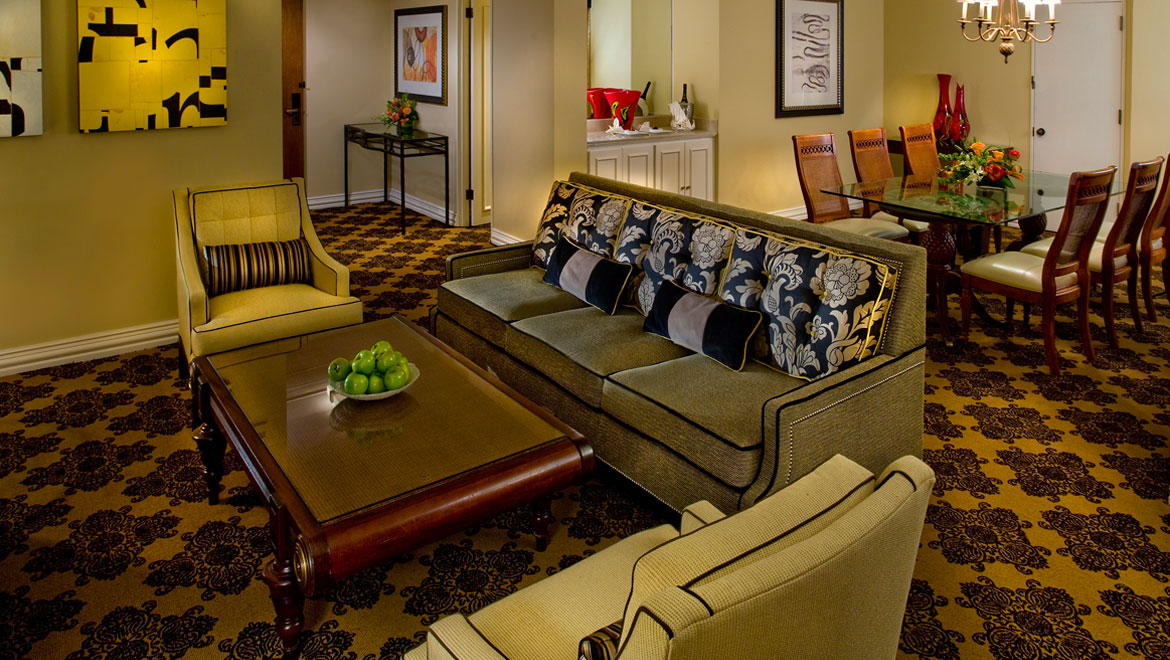 Suite in Houston hotel