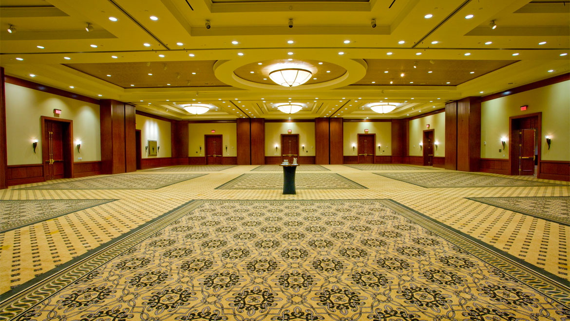 Ballroom in Houston hotel