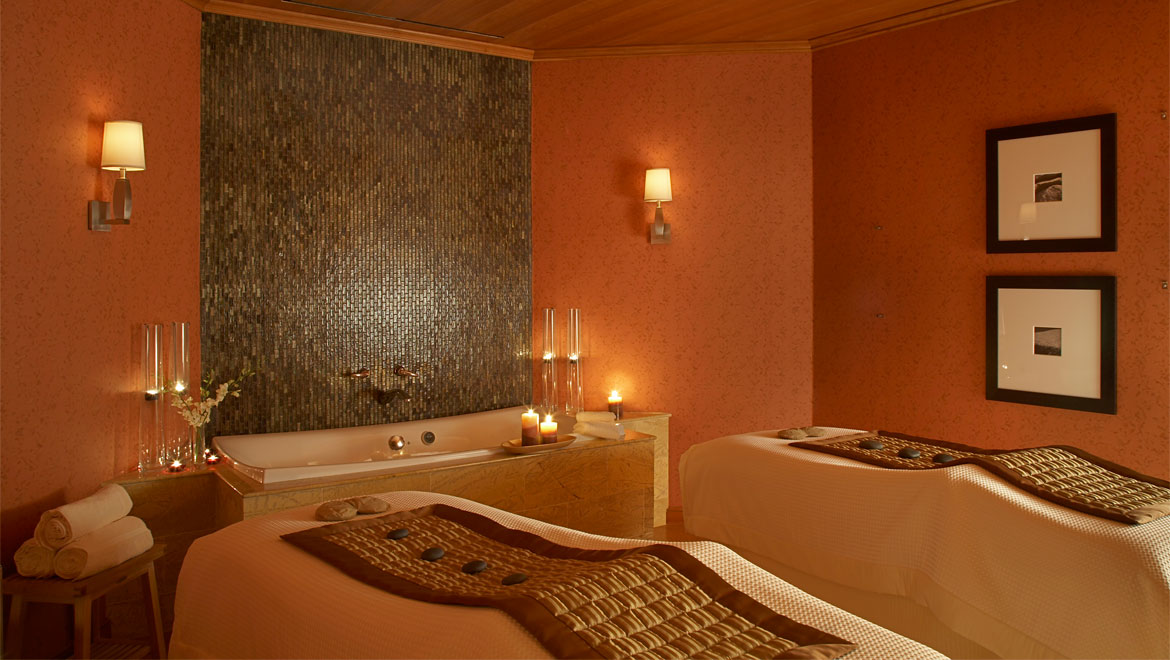Couples room at Mokara Spa in Houston