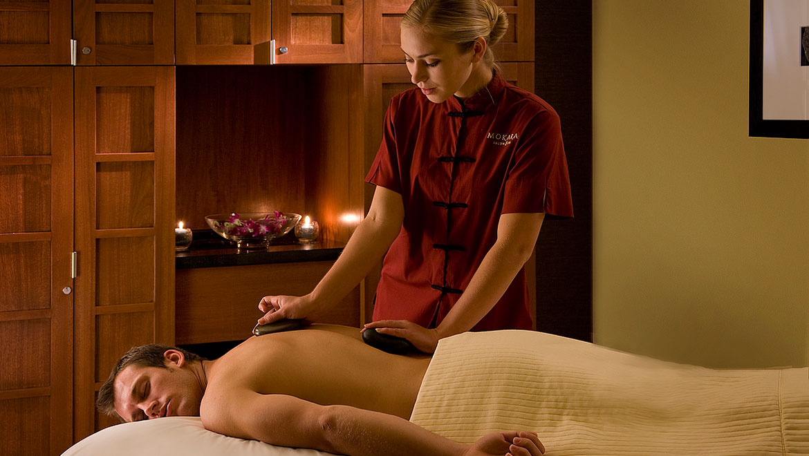Massage at Mokara spa