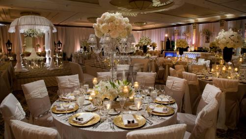 Wedding reception at Omni Houston