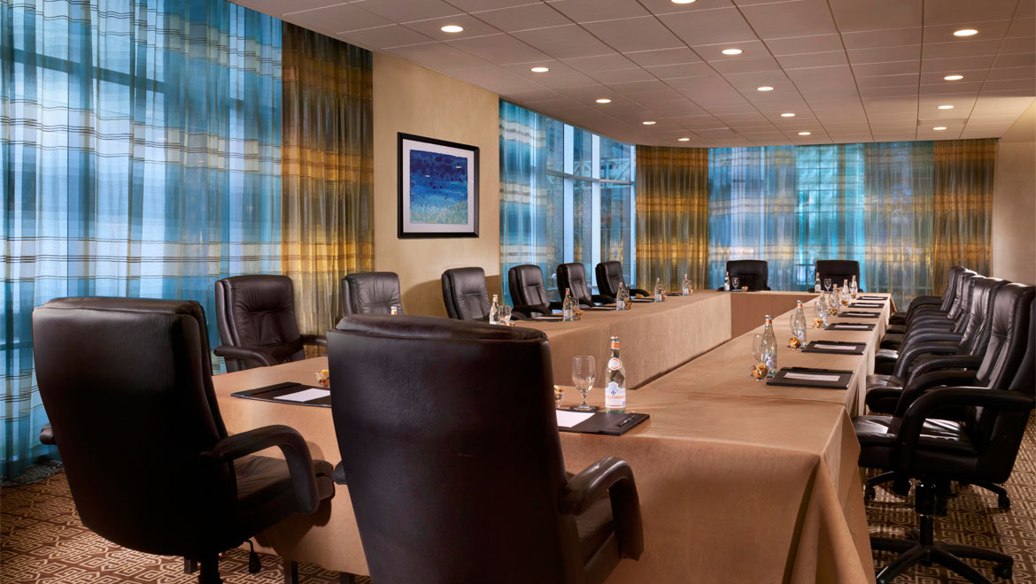 Boardroom at Houston Westside hotel