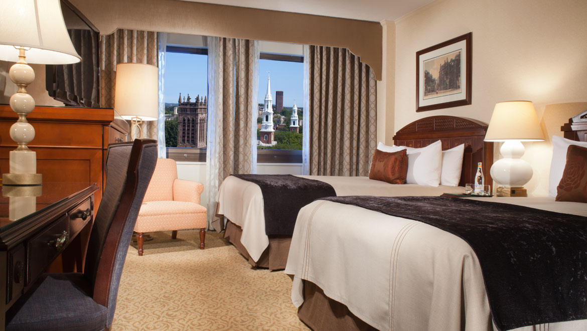 Double Bed Guestroom At New Haven Hotel